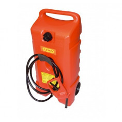 Caddie ravitailleur essence 53 litres Poléthylène
