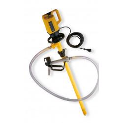 Pompe pour produits ALCALINS vide-fut ou cuve 1000 litres IBC GRV