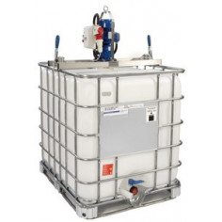 Mélangeur agitateur pour cuve 1000l IBC GRV LBC37 électrique