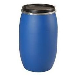 Fût polyethylène haute densité 120l, ouverture totale