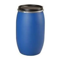 Fût polyethylène haute densité 225l, ouverture totale