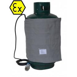 Couverture chauffante ATEX bouteille gas butane propane