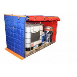 Box chauffant 125x250x150cm