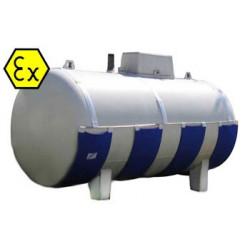 Couverture chauffante ATEX pour citerne de gas