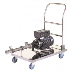 Pompe horizontale à rotor excentré haute viscosité