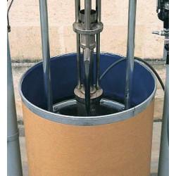 Fût pour produits pateux, mastic silicone colle