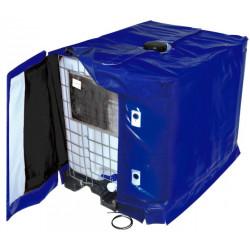 Couverture chauffante pour cuve 1000 litres GRV / IBC