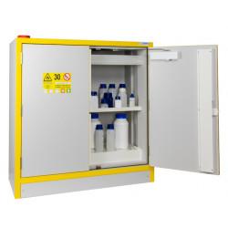 Armoires de sécurité 2 portes comptoir coupe feu 30 min pour produits inflammables