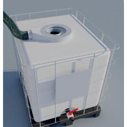 Capteur annulaire de vapeurs pour cuve 1000l IBC
