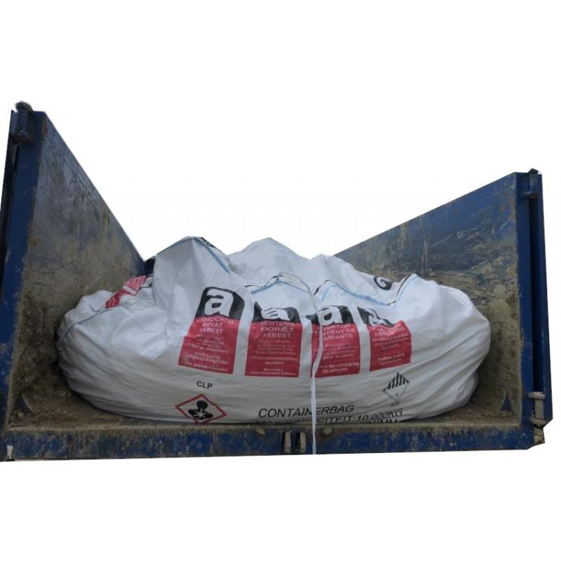 Conteneur bag pour benne terre / fraisat amianté