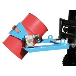 Basculeur de fût polyvalent pour chariot élévateur type FLEX