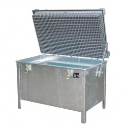 Box de stockage batteries Lithium-Ion endommagées 220 L