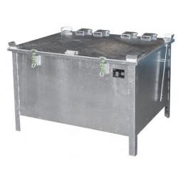 Box de stockage batteries Lithium-Ion endommagées 280 L