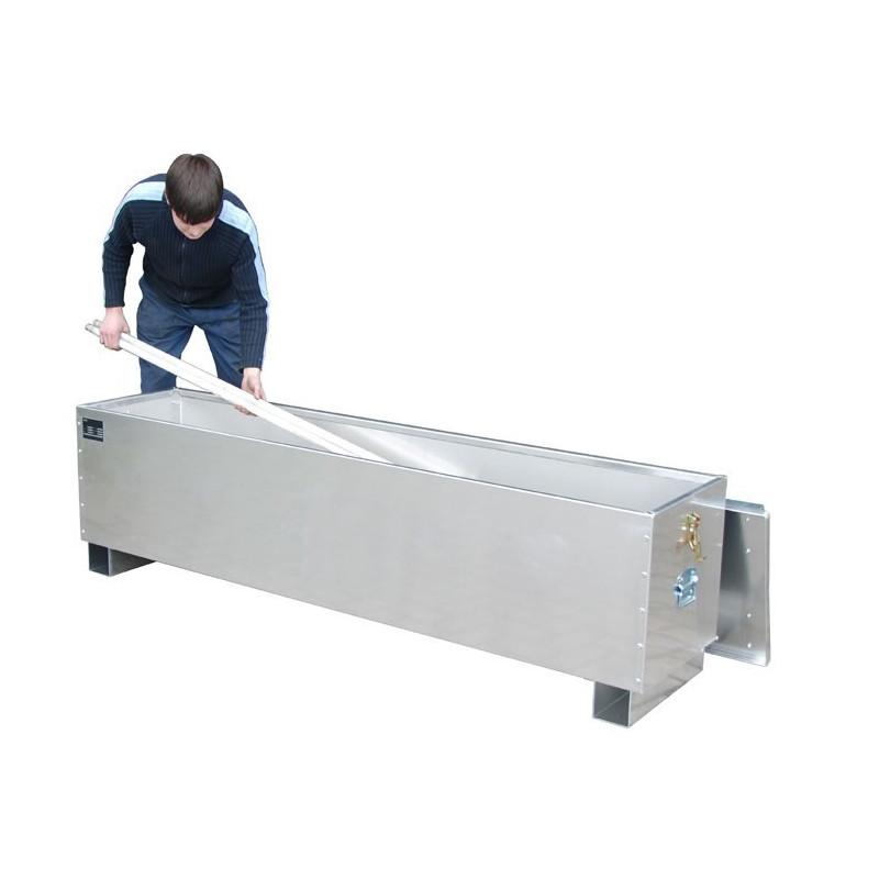 Box stockage et transport tube néon fluorescent lg 1.70m