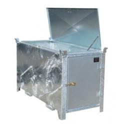 Box stockage et transport tube néon fluorescent lg 1.70m porte et couvercle