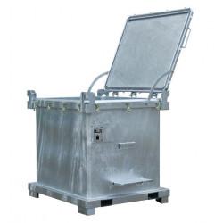 Grand emballage de secours ADR 50AT pour cuve IBC ou 4 futs