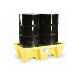 Bacs de rétention Polyéthylène pour 2 fûts
