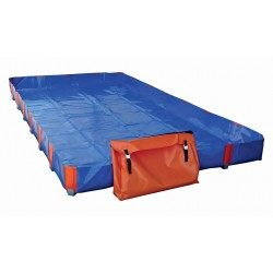 Bac de rétention pliable / flexible standard 3750 L