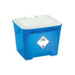 Fût DASRI bleu 30l pour déchets Cytotoxique UN3249