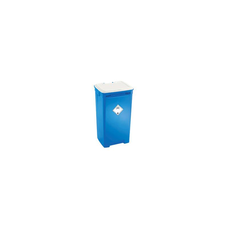 Fût DASRI bleu 60l pour déchets Cytotoxique UN3249