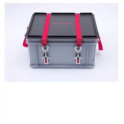 Caisse transport batterie lithium endommagée P908 XS-BOX 1 BASIC