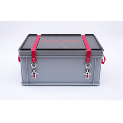 Caisse transport batterie lithium endommagée P908 S-BOX 2 PREMIUM