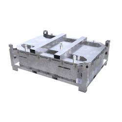 Caisse transport ADR batterie lithium état critique LP906