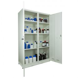 Armoire de sécurité produits toxiques et réactifs 2 portes