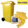 Kit d'intervention produits chimiques 150 litres