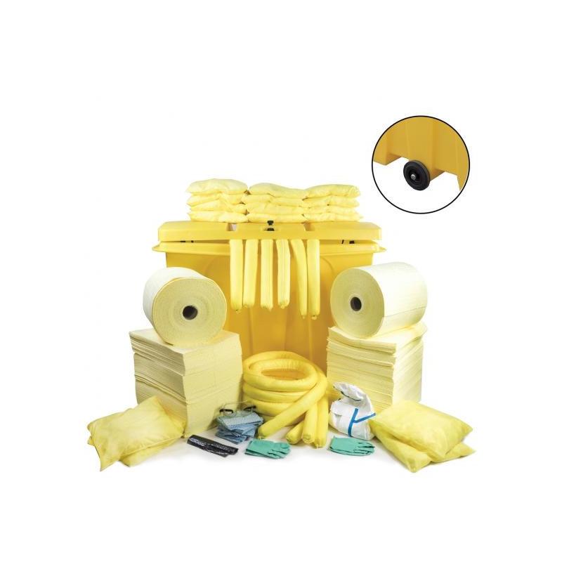 Kit anti-pollution chimique 800 litres