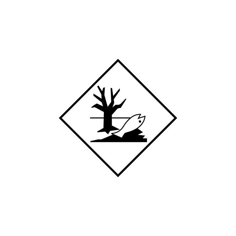 Etiquette de Danger 100x100 MDPE - Rouleau de 1000u