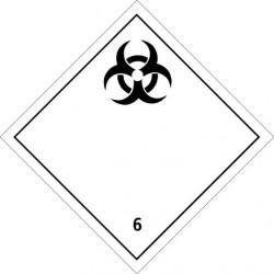 Etiquette de placardage container maritime