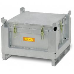 Coffre acier batteries lithium ADR 120 litres P908