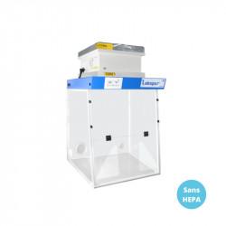 Hotte filtrante de laboratoire 60x65cm LABOPUR