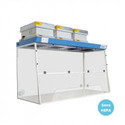 Hotte filtrante de laboratoire 180x75cm LABOPUR