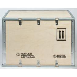 Caisses bois homologuées transport matières dangereuses 4D/X