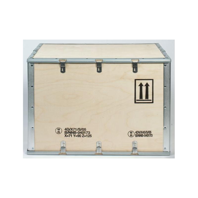 Caisse bois homologuée transport matières dangereuses 4D/X