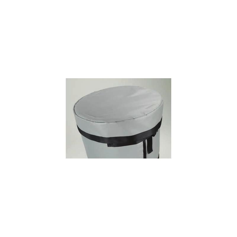 Couvercle isotherme pour couverture chauffante fût 200l