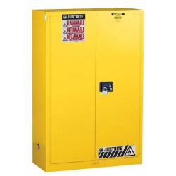 Armoire de sécurité acier produits inflammables 170L