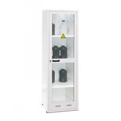 Armoire de sécurité produits toxiques et réactifs 1 porte vitrée