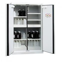 Armoires de sécurité multirisques à 4 compartiments (Inflammables, Acides, Bases et Toxiques) 90'