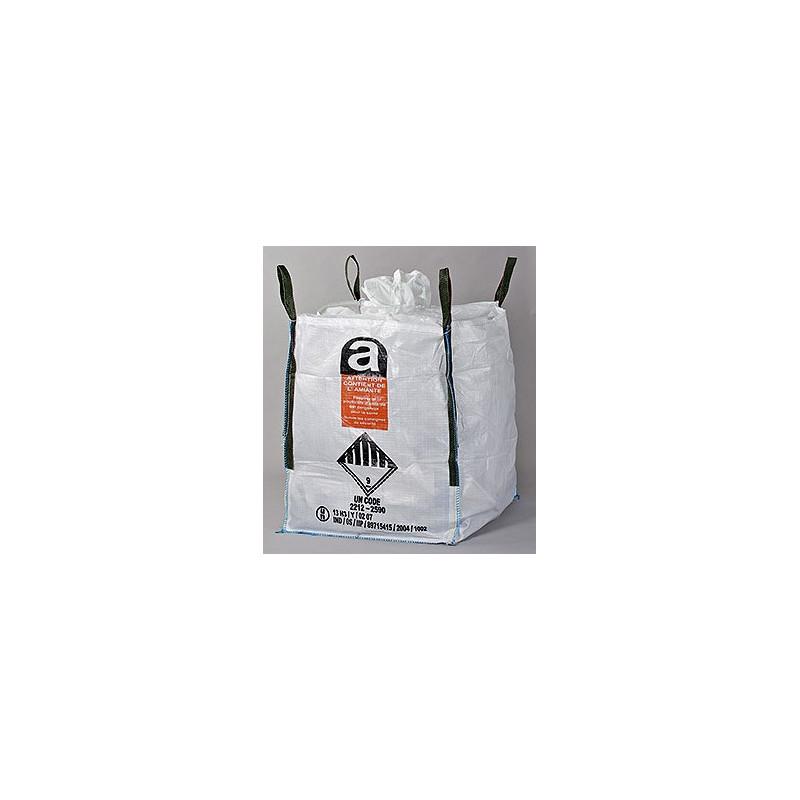 Big-Bag homologué pour l'amiante