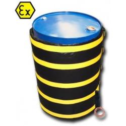 Couverture chauffante ATEX pour fût 200l