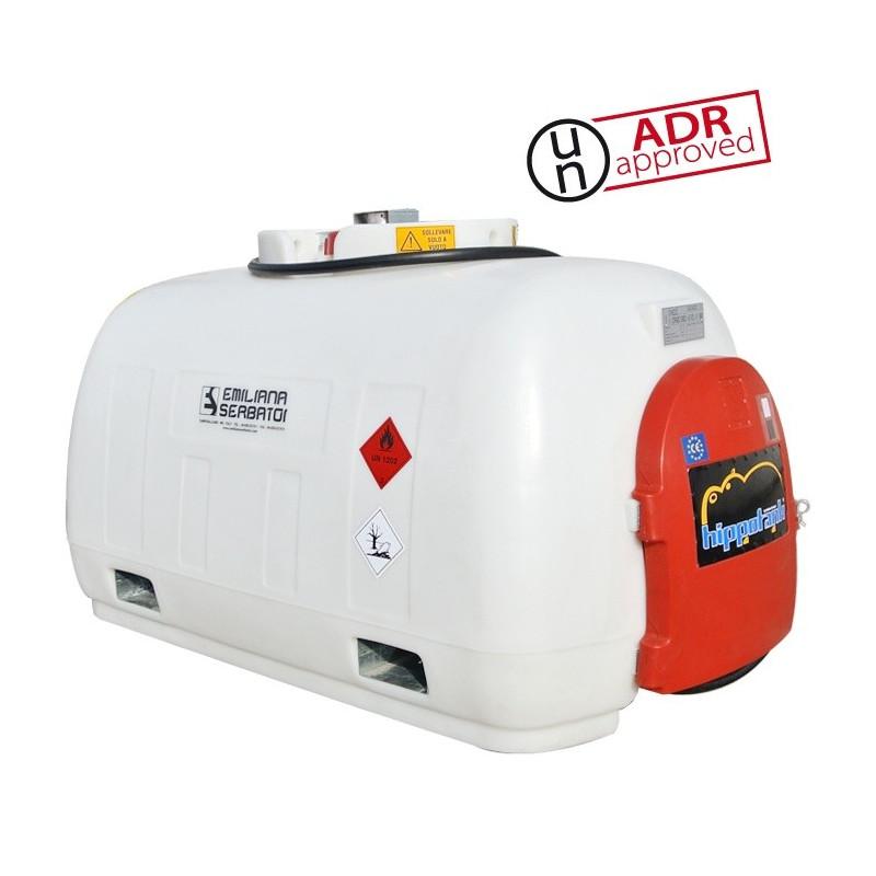 Ravitaillement mobile gasoil 960 litres ADR