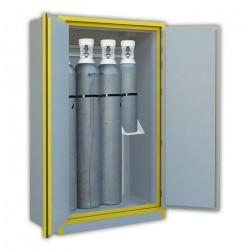 Armoire de sécurité pour bouteille de gaz 2 portes
