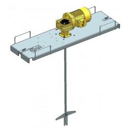 Mélangeur agitateur électrique pour IBC GRV ED1