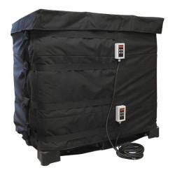 Couverture chauffante pour cuve 1000l GRV / IBC 2x1000W Digital