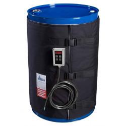 Couverture chauffante pour fût 200 litres 1200w Thermostat Digital