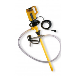 Pompe vide-fût ou cuve 1000l IBC GRV pour produits ALCALINS