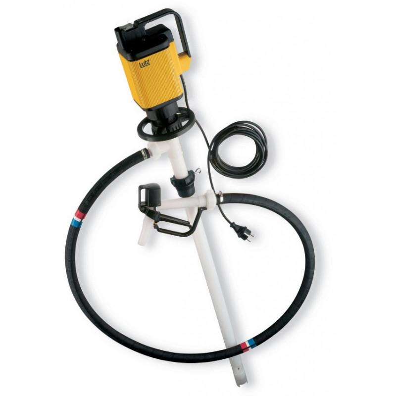 Pompe vide-fût ou cuve 1000l produits CONCENTRES Acides ou Alcalins
